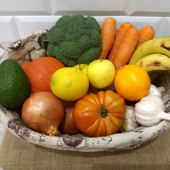 Cajas de Fruta y Verdura Ecológica de Temporada