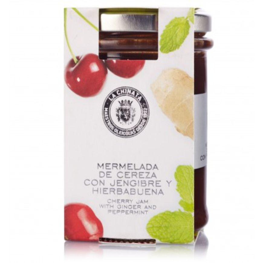 Mermelada de cereza con Hierbabuena y Jengibre 10% de Descuento