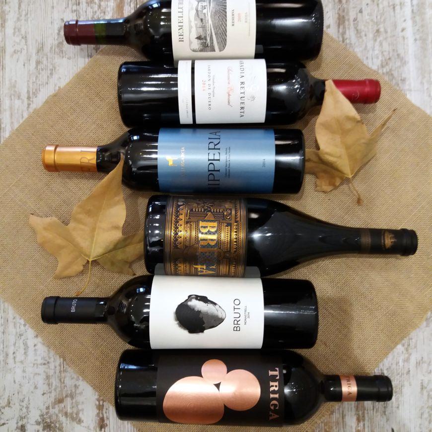 Vinos de España (Tintos)