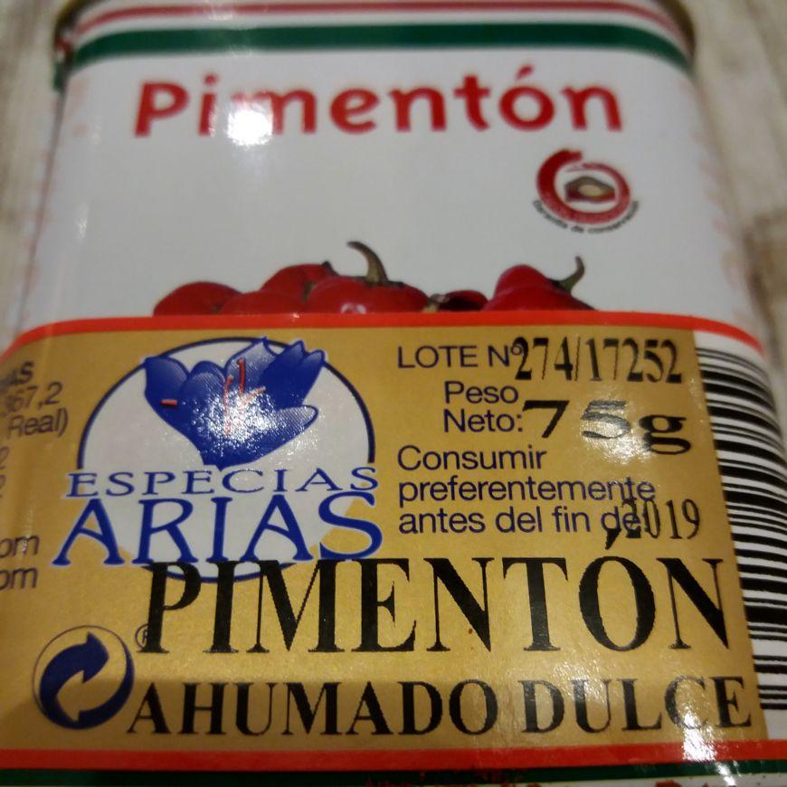 Pimentón Dulce Ahumado