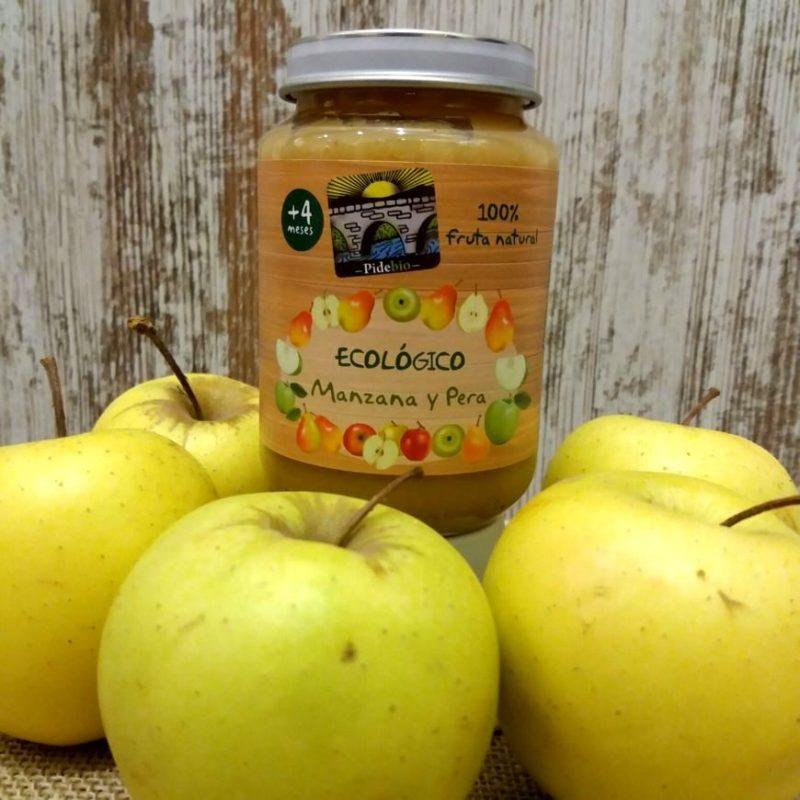 potito manzana y pera ecológico