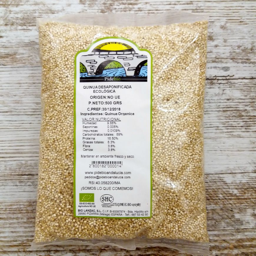 quinoa ecológica