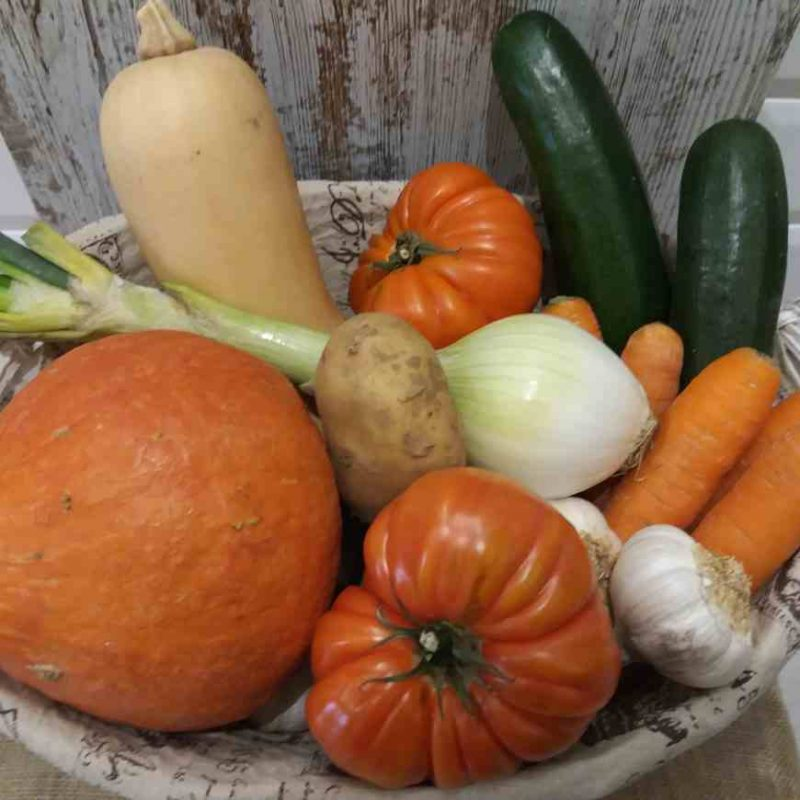 caja de verdura ecológica pequeña 1