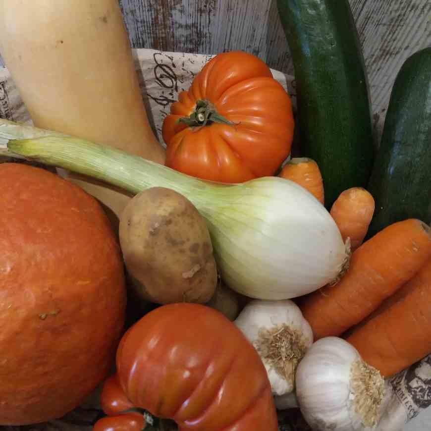 caja de verdura ecológica (pequeña) 2