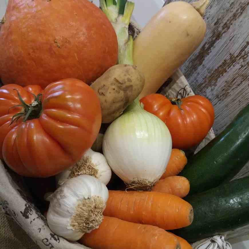 caja de verdura ecológica (pequeña) 3