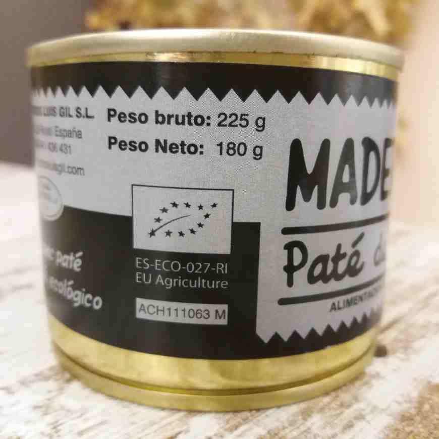 Paté de Jamón Ecológico
