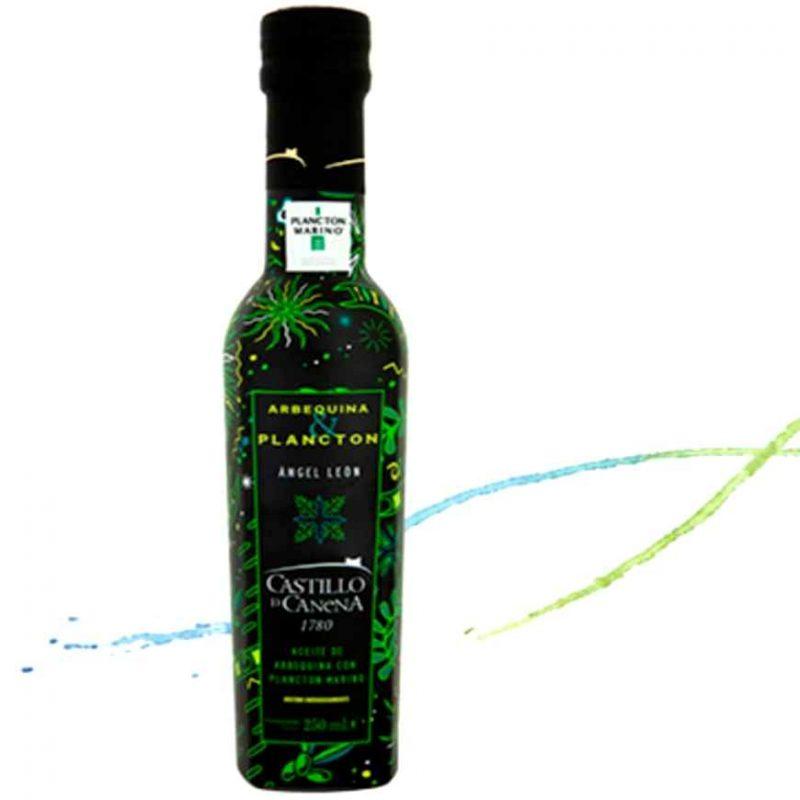 Aceite de Oliva Arbequina con Plancton Marino