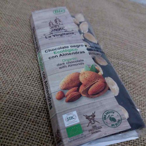 Chocolate Negro Ecológico con Almendras
