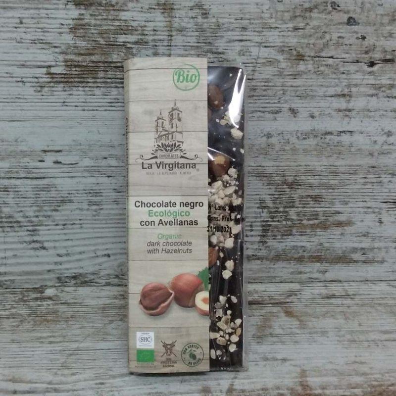 Chocolate Negro con Avellanas Ecológico