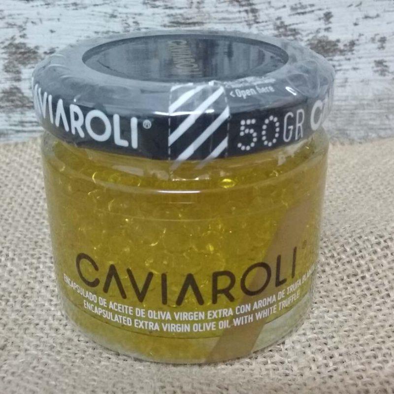Aceite de Oliva con Trufa Esferas Caviaroli