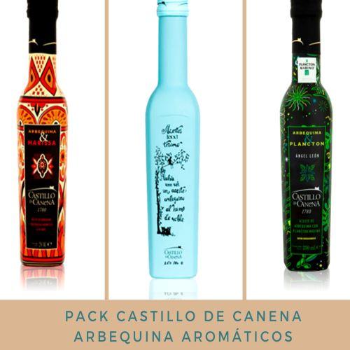 Pack Castillo de Canena Arbequina Aromáticos