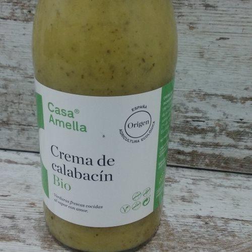 Crema de Calabacín Bio Casa Amella